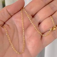 Corrente Americana de Ouro 18K 50cm - MI24801 - MICHELETTI JOIAS