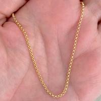 Corrente Portuguesa de Ouro 18K 40cm - MI24250 - MICHELETTI JOIAS