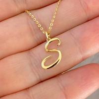 Pingente de Letra S de Ouro 18K Feminino - MI25280 - MICHELETTI JOIAS