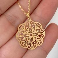 Pingente Mandala de Ouro 18K Modelo 2 - MI25240 - MICHELETTI JOIAS
