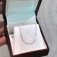 Corrente Cartier de Ouro Branco 18K 60cm Fina - MI24139 - MICHELETTI JOIAS