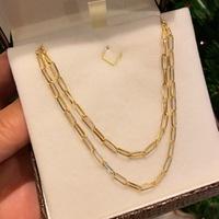 Corrente Elo Cartier Oval Ouro 18K 60cm - MI18068 - MICHELETTI JOIAS