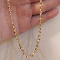 Corrente Americana de Ouro 18K Grossa 50cm - MI26142 - MICHELETTI JOIAS