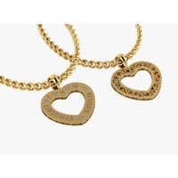 Pingente Mandala de Coração em Ouro 18K - MI26003 - MICHELETTI JOIAS