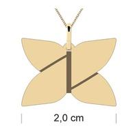 Pingente Personalizado Logo Ouro 18K - perso - MICHELETTI JOIAS