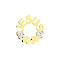 Pingente Mandala Mini Jesus de Ouro 18K - MI18007 - MICHELETTI JOIAS