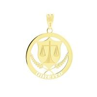Pingente de Formatura para Direito Ouro 18K - MI18238 - MICHELETTI JOIAS