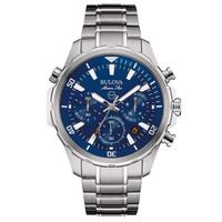 Relógio Bulova Masculino Marine Star Cronógrafo 96B256 - 96B... - MICHELETTI JOIAS