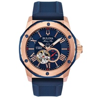 Relógio Bulova Masculino Marine Star Automático - 98A227 - MICHELETTI JOIAS