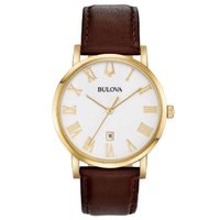 Relógio Bulova Masculino Classic Couro 97B183 - 97B183 - MICHELETTI JOIAS