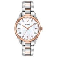 Relógio Bulova Feminino Classic Madrepérola - 98P183 - MICHELETTI JOIAS