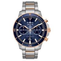 Relógio Bulova Masculino Marine Star Azul - 98B301 - MICHELETTI JOIAS