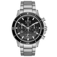 Relógio Bulova Masculino Marine Star Preto - 96B272 - MICHELETTI JOIAS