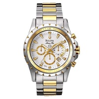 Relógio Bulova Masculino Marine Star Bicolor - WB30864S - MICHELETTI JOIAS