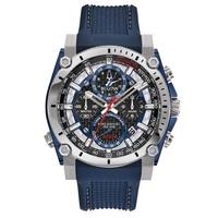 Relógio Bulova Masculino Precisionist Silicone - 98B315 - MICHELETTI JOIAS