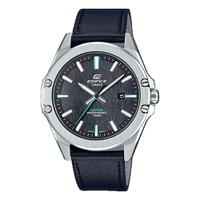 Relógio Casio Edifice Cronógrafo Couro - EFR-S107L-1AVUDF - MICHELETTI JOIAS