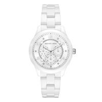 Relógio Michael Kors Feminino Runway Branco - MK6617-1BN - MICHELETTI JOIAS