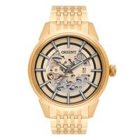 Relógio Orient Masculino Clássico Automático Dourado - NH7GP... - MICHELETTI JOIAS