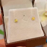 Brinco Infantil Círculo Diamantado Ouro 18K - MI17791 - MICHELETTI JOIAS