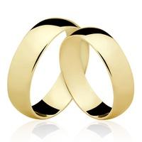 Alianças de Ouro 18/750 AL05 - NATALIA JOIAS