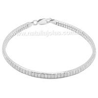 Pulseira de Prata 925 PL20 - NATALIA JOIAS