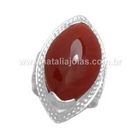 Anel de Prata 925 com pedra AN69 - NATALIA JOIAS