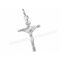 Pingente de Prata 925 Crucifixo PG76 - NATALIA JOIAS