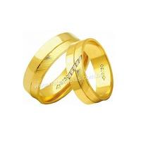 Alianças de Ouro 18k/750 com Diamantes AE184 - NATALIA JOIAS
