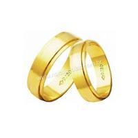 Alianças de Ouro 18k/750 AE140 - NATALIA JOIAS