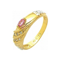 Anel de Formatura em Ouro 18k/750 com Diamante ANF... - NATALIA JOIAS