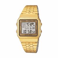 Relogio Casio World Time A500WGA-9DF - A500WGA-9DF - MICHELETTI JOIAS