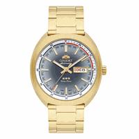 Relógio Orient Masculino Automático Dourado - 469GP082 - MICHELETTI JOIAS
