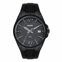 Relógio Orient Masculino Preto Pulseira Silicone - MPSP1012 - MICHELETTI JOIAS