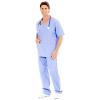 cc6 - Conjunto Cirúrgico em Algodão Hospitalar Go...