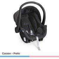 Bebê Conforto Galzerano Cocoon Preto - Dispositivo de Retenção Até 13kg