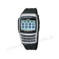 Relogio CASIO Masculino Data Bank EDB610