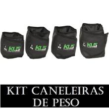 Kit caneleira Tonozeleira de Peso 1,2,3 e 4 kg - KLMASTERFITNESS