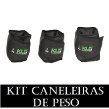 Kit Caneleira Tornozeleira de Peso 2,3 E 4 kg - KLMASTERFITNESS