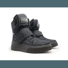 Sneaker Para Academia Jeans Destroyed Preto - KLMASTERFITNESS