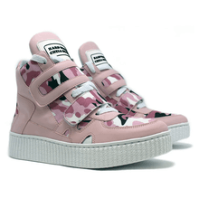 Sneaker Para Academia e Dança Camuflado Rosa - KLMASTERFITNESS