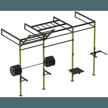 Gaiola/Rack Crossfit - 3 Módulos - KLMASTERFITNESS