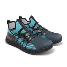 Tênis de Corrida Azul com Preto Iron Flex - KLMASTERFITNESS