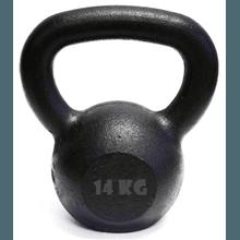Kettlebell Pintado 14 Kg Crossfit Treinamento Func... - KLMASTERFITNESS