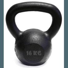Kettlebell Pintado 16 Kg Crossfit Treinamento Func... - KLMASTERFITNESS