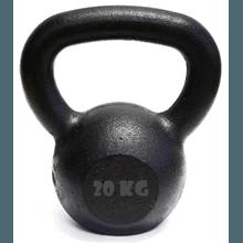 Kettlebell Pintado 20 Kg Crossfit Treinamento Func... - KLMASTERFITNESS