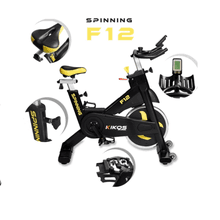Bicicleta Spinning Kikos Pro F12i - KLMASTERFITNESS