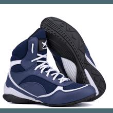 Bota de Treino Musculação Mr Gutt Cano Curto Azul - KLMASTERFITNESS
