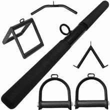 Kit Puxadores Musculação Kit Reto Triangulo Estrib... - KLMASTERFITNESS