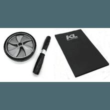 Kit Roda Abdominal Exercícios Lombar Colchonete Ev... - KLMASTERFITNESS