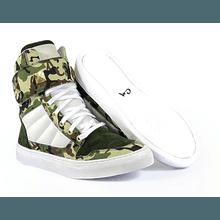 Tênis Bota Treino Sneaker Feminino Fitness Camufla... - KLMASTERFITNESS